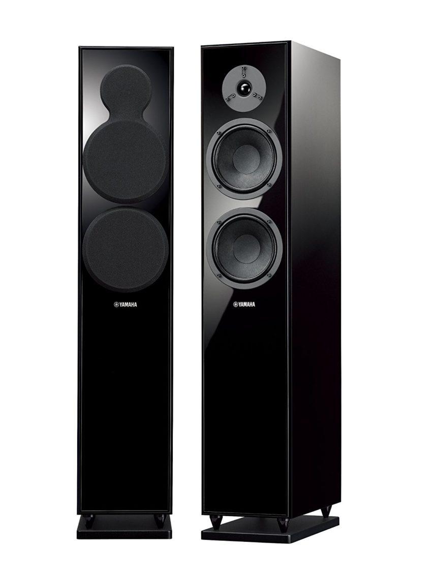 Yamaha ns f150 floor standing speaker speakerxpert for 12 inch floor standing speakers